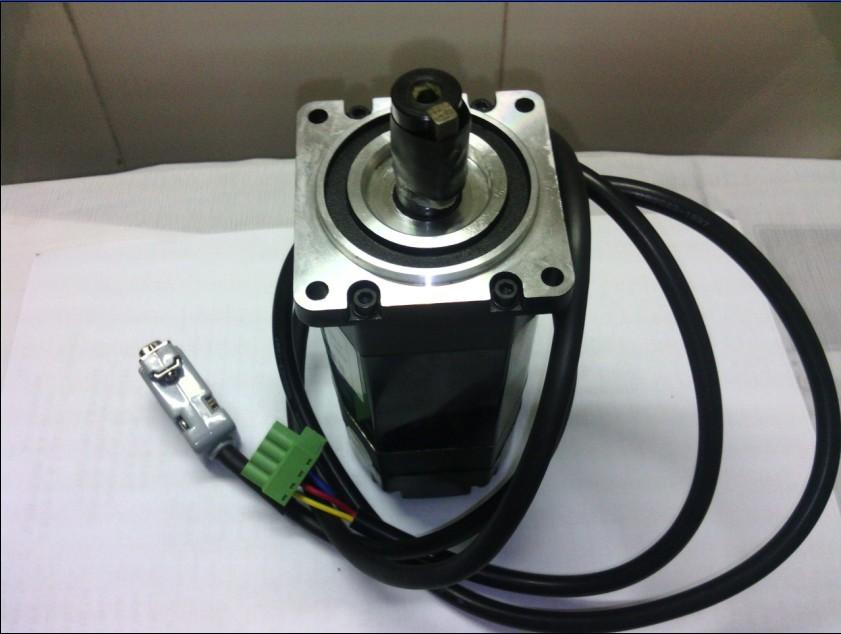 Leasshine Preto ACM602V36-2500 servo motores podem trabalhar 36-60 VDC 8.4A a 25A Brushless Servo Motor 200 W codificador é 2500 fit ACS806
