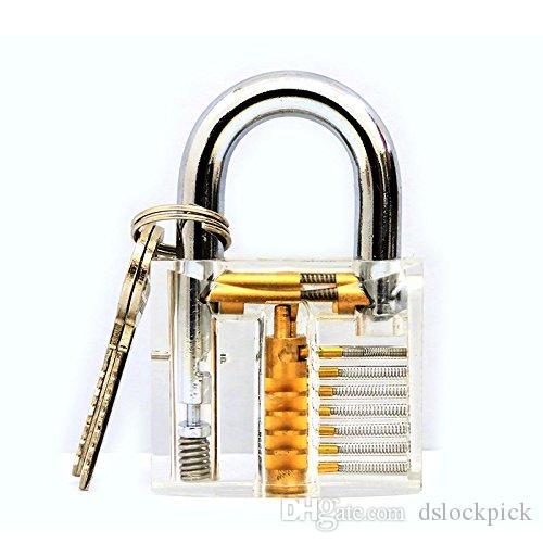 DST Cerradura de entrenamiento Corte profesional Corte de cerradura con llave Cerradura de llave de entrenamiento Cerradura de cerrajero
