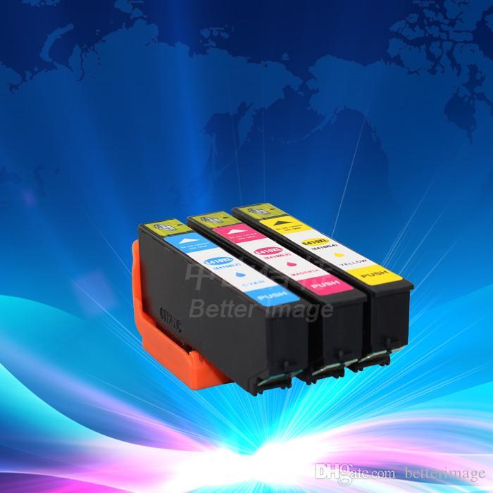 Cartouches d'encre compatibles T410XL, 3 cartouches, 1 lot, cartouche d'encre pour xp530 xp630 xp830, encre couleur de remplacement pour XP-530 XP-630 XP-830
