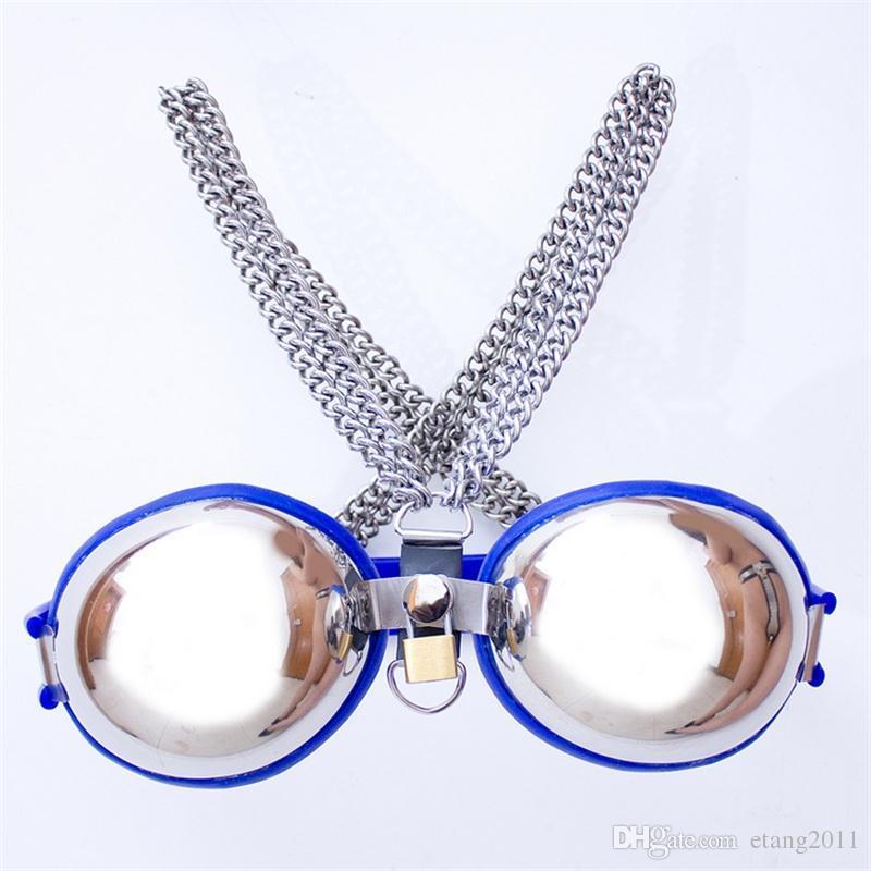 Fashions femmina regolabile in acciaio inox banda banda Bondage Chastity Belt dispositivo BDSM Adult Sex Toy Prevenire la masturbazione