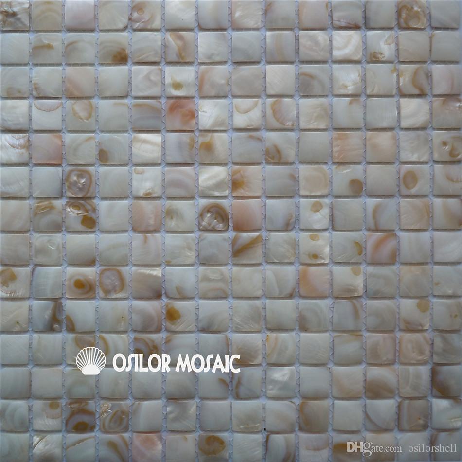 Großhandel Natürliche Konvexen Stil Chinesischen Süßwasser Shell Perlmutt  Mosaikfliesen Für Innen Haus Dekoration Küche Und Bad Wandfliese Von