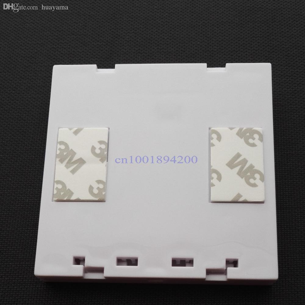 Wholesale-86 Wall Panel Remote Transmitter 1 2 3 Button Sticky RF TX Smart Home Room Hall Living Room Bedroom Wirelss Remote315/433 ev1527