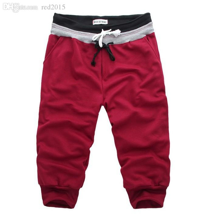 Оптовая продажа-новые мужчины повседневная Спорт брюки свободные мужские брюки мужчины шаровары брюки S-XXL груза падения бегунов брюки груза