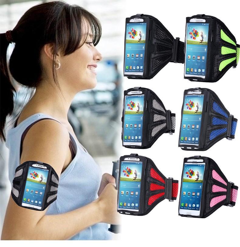 Trous de respiration universels Running Sport GYM cas de bande de bras pour iphone 6 6s plus 7 8 8plus x Xs max Samsung S8 S9 Note 9