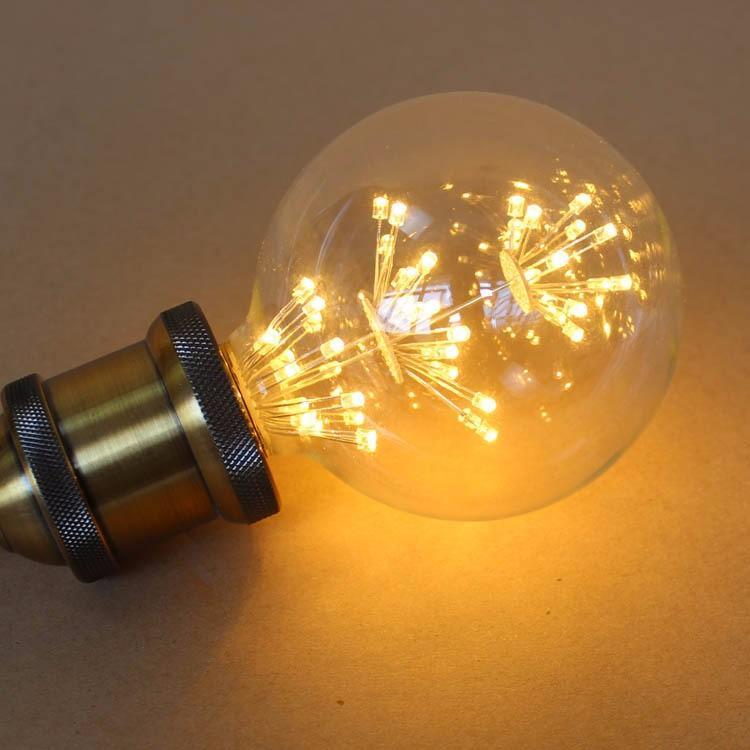 Vintage G80 LED Edison Filament Light Bulb E27 220V Ampolletas Led Light for Home Clear Glass incandescent Warm Yellow Bulb Lamp (8)