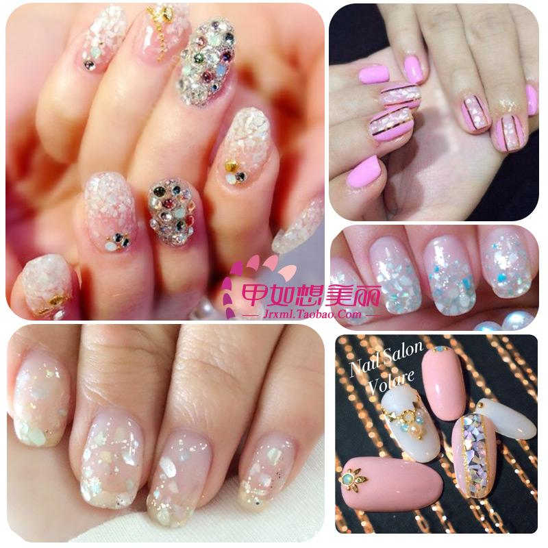 10 set Manicure nail decorations Japanese Department of sea breeze ...