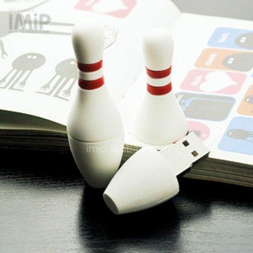 Cute Cartoon Bowling Model usb 2.0 flash memory stick pen drive 8GB 16GB 32GB 64GB 128gb 256gb 100% new