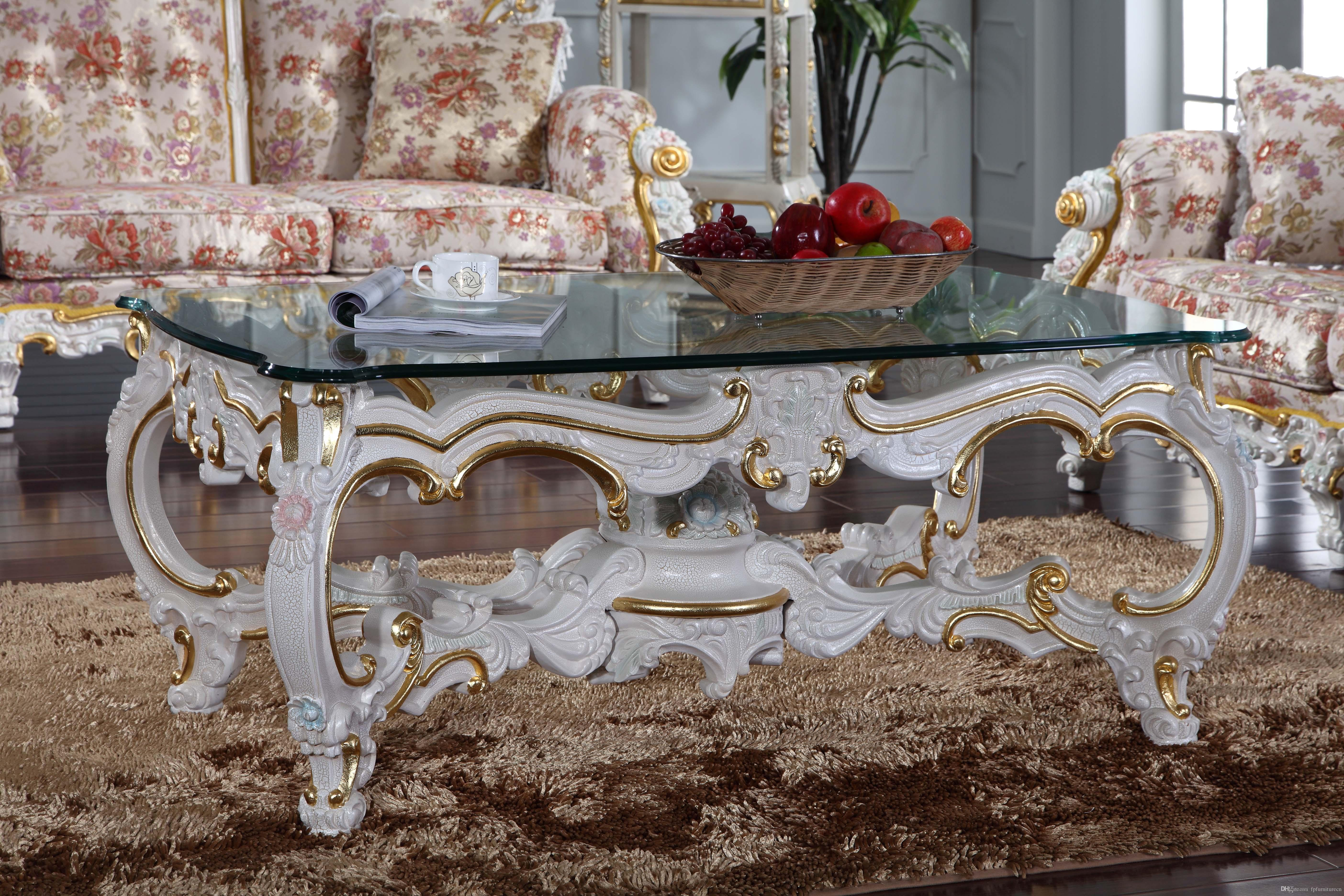 2019 Baroque Style Living Room Furniture Royalty Classic Coffee Table  Italian Coffee Table From Fpfurniturecn, $1229.79 | DHgate.Com