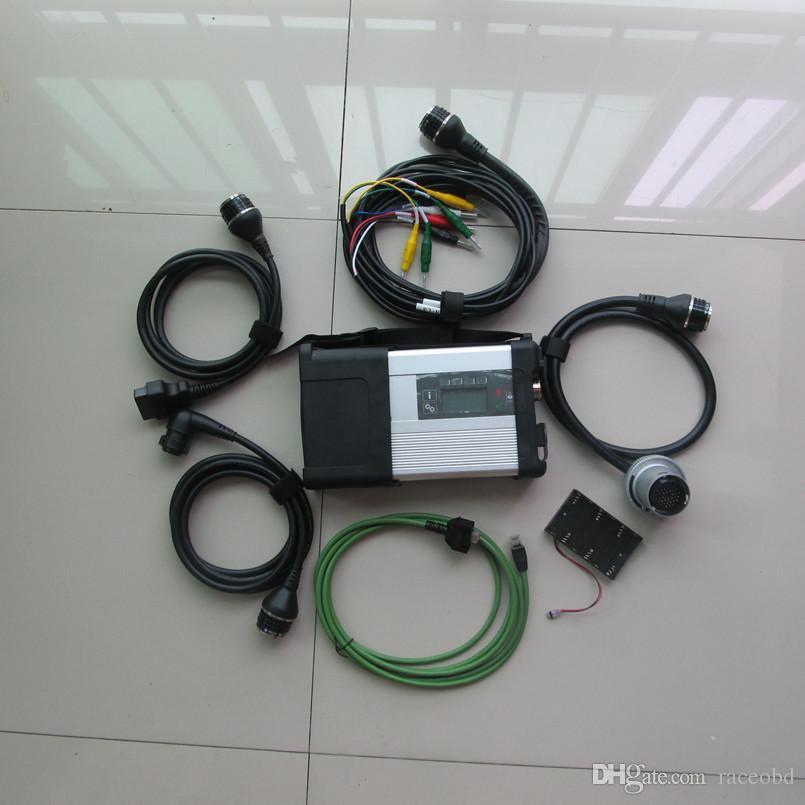 Outil de diagnostic automobile MB STAR C5 sans Câbles HDD CARS et CAMIONS Câbles Scanner Kit complet