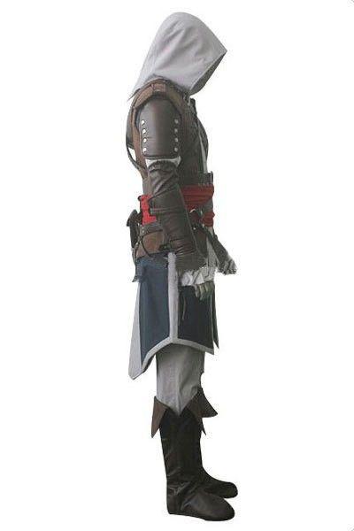 Atacado-Personalizado Cosplay Halloween Assassins Creed IV Bandeira Preta Edward Kenway 4 cosplay todo Assassins Creed Traje