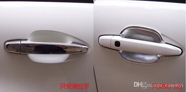 ABS хром двери автомобиля ручка крышка отделка Для 2008-2011 2012 Chevrolet Chevy Captiva стайлинга автомобилей автозапчасти 8 шт. В комплекте