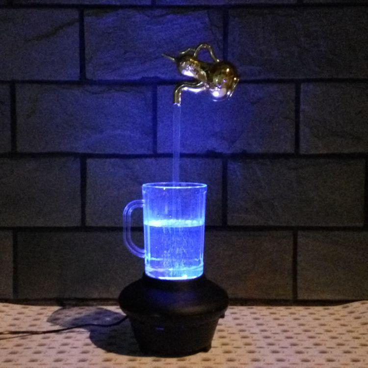 2018 Magic Magical Kettle Water Lamp Creative Faucet Cup Light ...