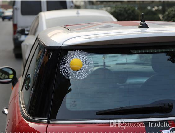 Car styling tennis hits car window sticker design motorcycle accessories baseball funny car stickers and decals