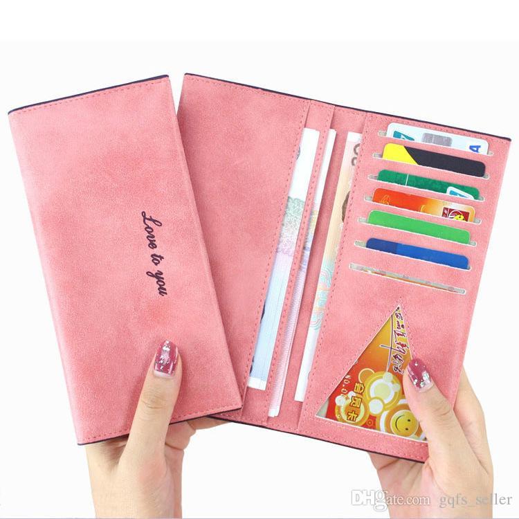 2016 donne in pelle borse a tracolla di marca per le donne borse pu portafoglio lungo portamonete signore porta carte di credito portafogli del telefono