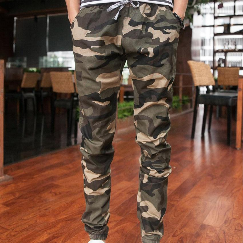 official site cozy fresh the best 2015 New Joggers Men'S Camouflage Trousers Beam Foot Slacks Elastic Draw  String Military Cargo Mens Pants UK 2019 From Chenhanyang, UK $&Price; | ...