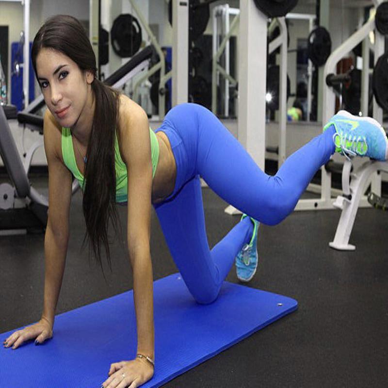 WOW! Jen Selter Fitness Donna Leggings sportivi Yuga Running Training Bodybuilding Gym Colore caramelle Super Pants Donna Jeggings S033