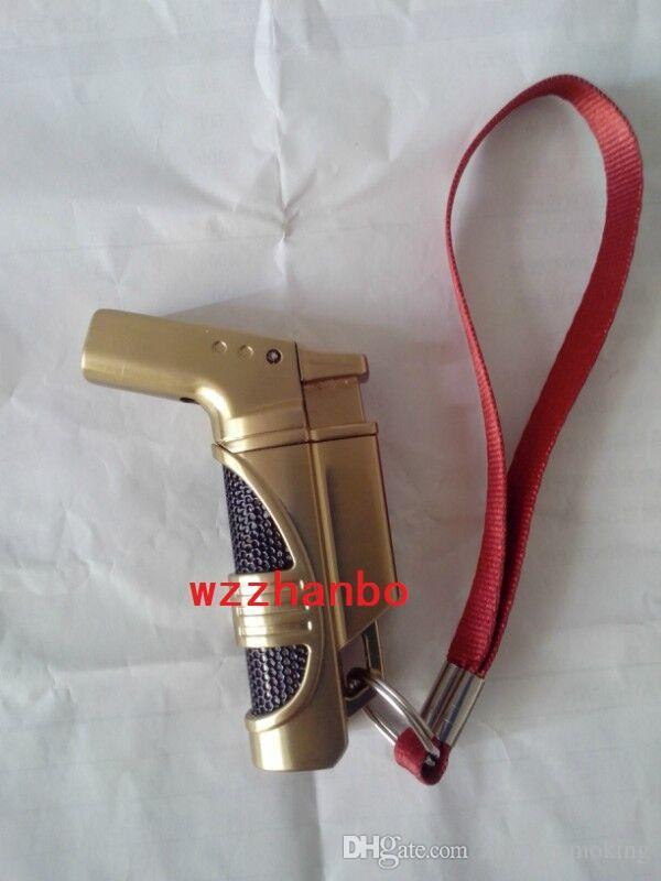 2015 MINI GAS Soldadura Soldadura CAMP / Cooking Hand Metal GUN Torch Metal pipas de fumar Melting Butane Jet Encendedores de la antorcha Envío gratis
