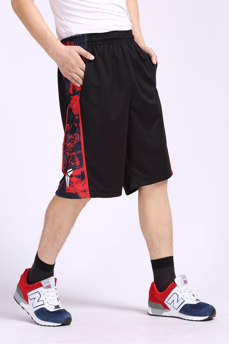 Оптовая Продажа-Новый Летние Шорты Мужчины Спорт Полиэстер Эластичный Спортивные Шорты Мужчины Плюс Размер Бермудские Острова Masculina Мужчины Баскетбол Шорты