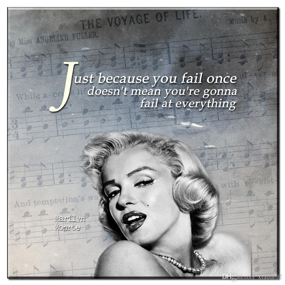 2018 Zz985 Modern Canvas Posters And Prints Art Marilyn Monroe ...