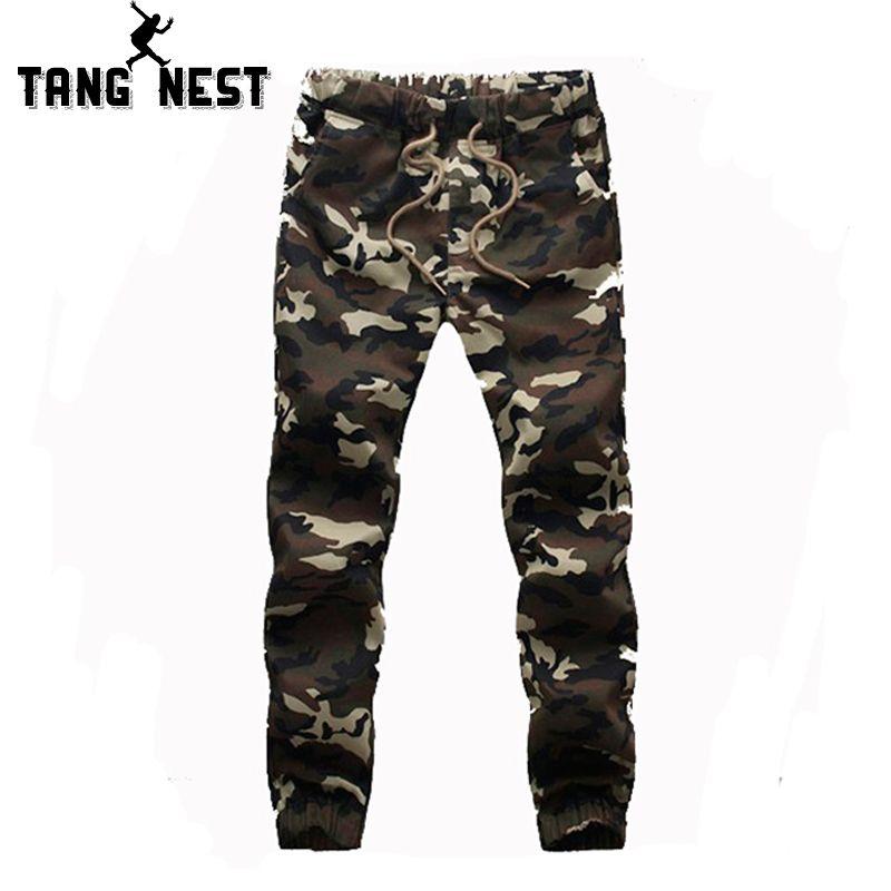 Commercio all'ingrosso-Pantalon Homme 2016 Vendita calda Camouflage Pantaloni casual da uomo Slim Attraente Pantaloni di moda Big Plus Size M-5XL di alta qualità MKX426