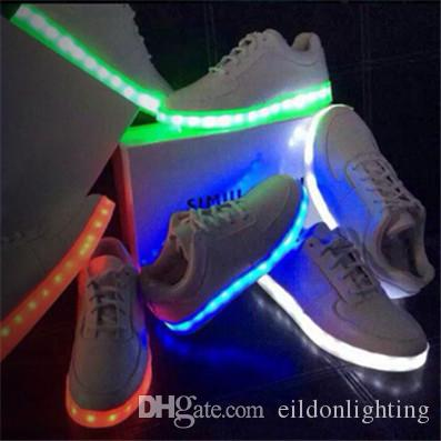 3V DC LED Flexible Strips Light 3528SMD 60LEDs RGB Single Color Lamp with USB Charger Battery Decorations Cloth Shoes Bike Hat China
