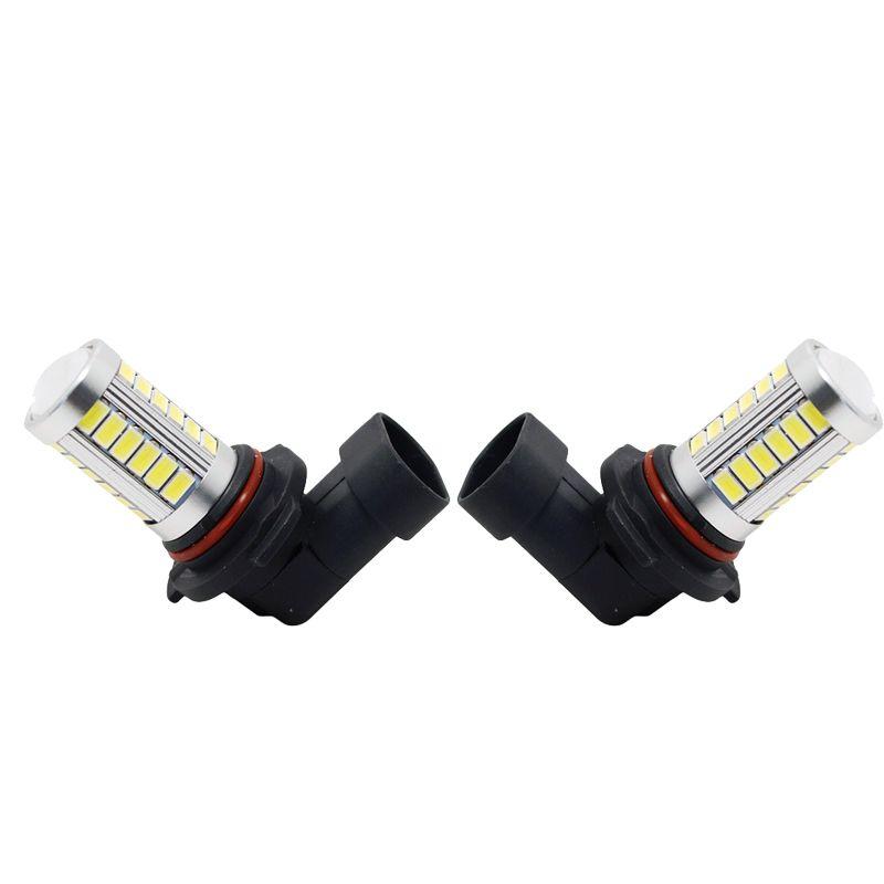 2pcs blanc voiture 12V 9006 / HB4 33SMD 5630 Lampe Ampoule LED antibrouillard # 4373