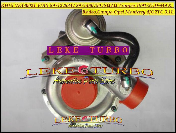 RHF5 VE430021 VIBX 8971228842 8971480750 ISUZU Trooper 1991-97,D-MAX,Rodeo,Campo,OPEL Monterey 4JG2TC 3.1L turbocharger (1)