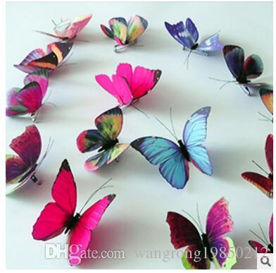 3D simulação de arte de pano estéreo alta A borboleta broche simulação acessórios Um broche borboleta tridimensional borboleta pin