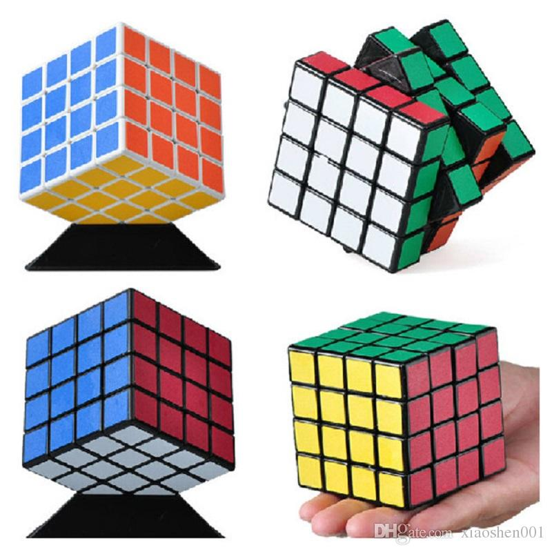 2016 Новый 60 мм Shengshou Magic Cube 4x4x4 скорость профессиональный головоломка Cubo Magico змея Stickerless интеллектуальная игрушка магия бигуди Бесплатная доставка