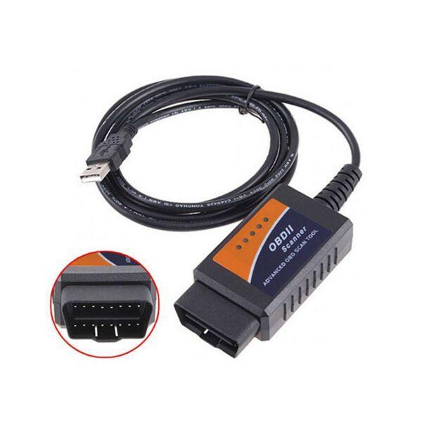 Compre Fcarobd 2016 OBD2 ELM327 USB ELM 327 V1.5 OBD 2 ELM327 ...