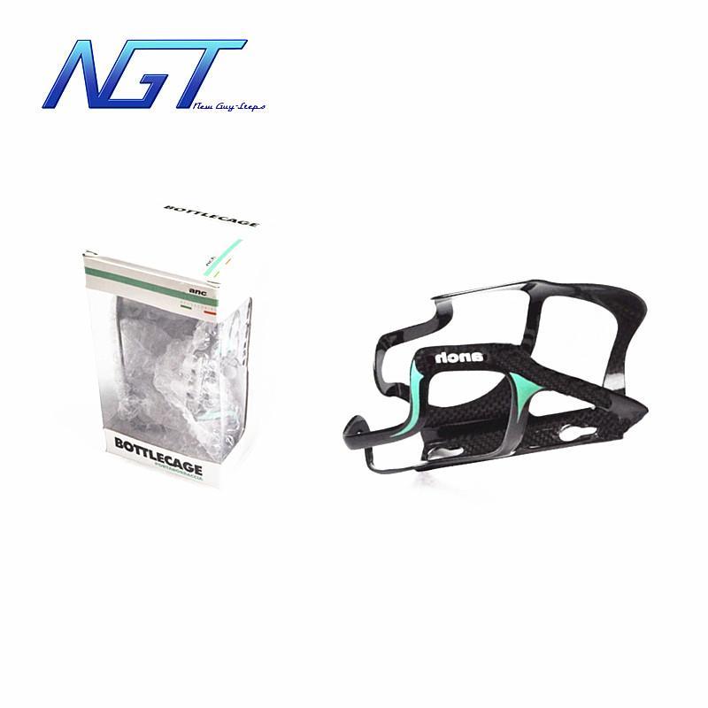 Portabatterie in fibra di carbonio per vendita calda con 1 portaborraccia in fibra di carbonio con finitura lucida