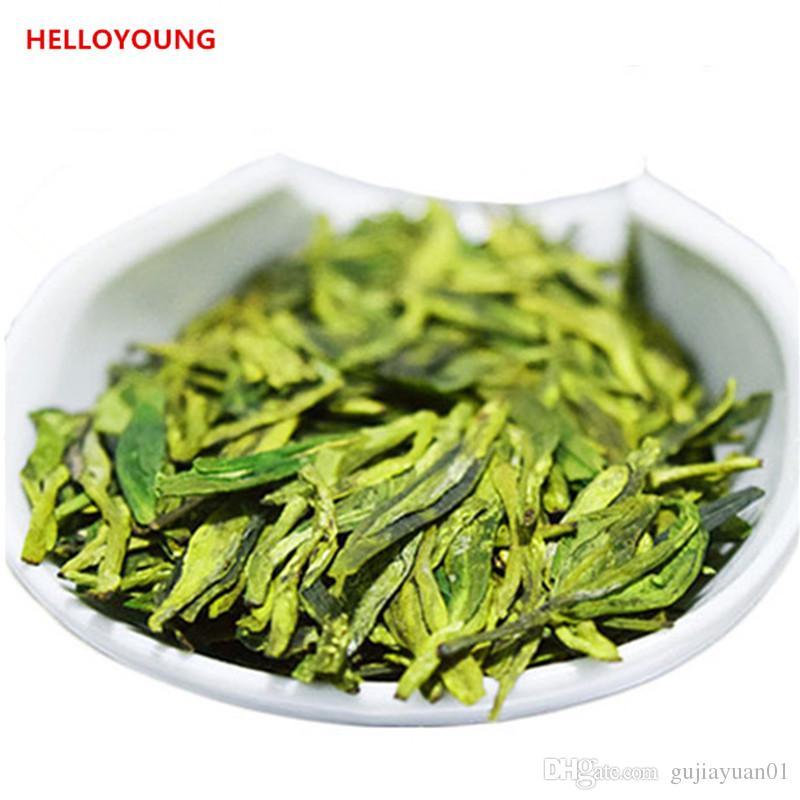 Saúde Tea preferência 250g verde orgânico chinês Longjing Dragão Bem chá Raw New Spring Green Tea Food Factory Direct Sales