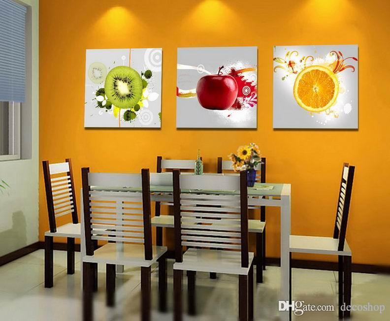 현대 아름 다운 과일 아트 그림 캔버스 홈 벽 장식 Set30439에 Giclee 인쇄