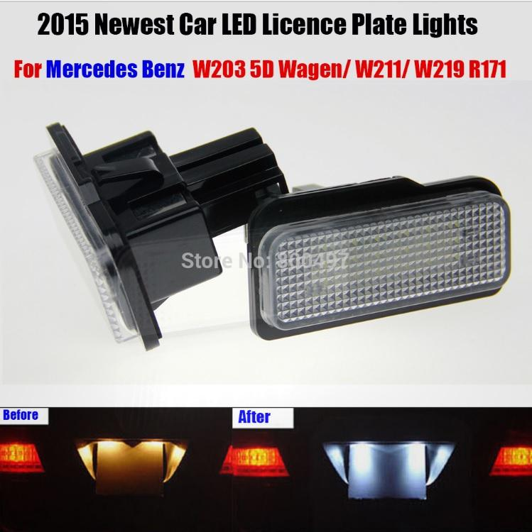 Pair of Bright High Quality Motorcycle Motorbike Number//License Plate Lights