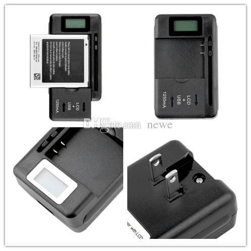 새로운 도착 모바일 범용 배터리 충전기 LCD 표시기 화면 휴대 전화 USB 포트
