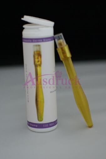 Venta apurada 0.25mm ~ 3.0mm Sellado nuevo Titanio DERMA ROLLER MICRONEEDLE FACE SKIN ROLLER dermaroller