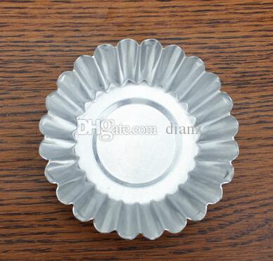 Fashion Hot Aluminium Silver Cake Cupcake Liner Baking Cup Mold Muffin Round Cup Cake Tool Bakeware Baking Pastry Tools Kitchen