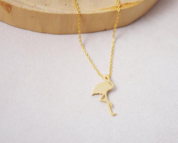 Heiße Verkaufshippie schicke Flamingos hängende Halskette böhmische Art und Weisefrauen Neclaces 2016 dünnes bestes Geschenk der Halskette Festival