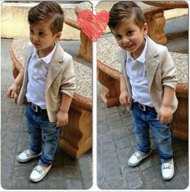 Costumes bébé garçon vêtements + chemise + jeans 3 pcs costume de garçon enfants Causal Loisirs ensembles enfants coton bébé vêtements ensembles tops + pantalons 0-8A CQZ051