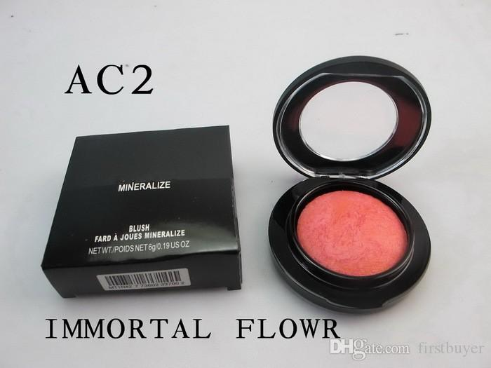 big sale Makeup Baked blush Mineralize Blush 6g AC2 flowr immortale