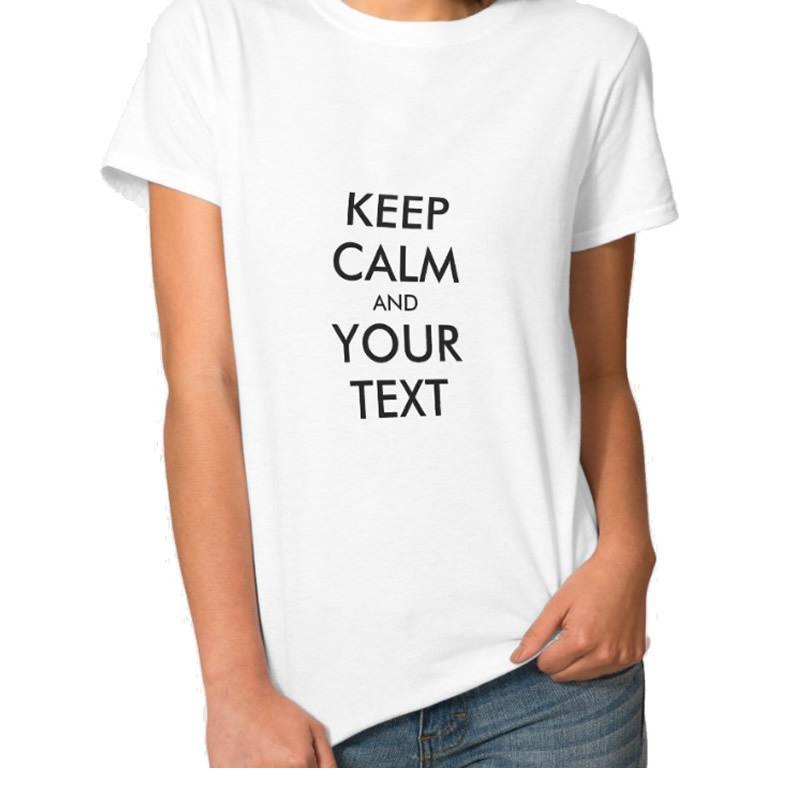 2016 Nuovo stile di moda Vendita calda Tenere mollusco e le lettere di testo stampa T-shirt donna Lady Tees