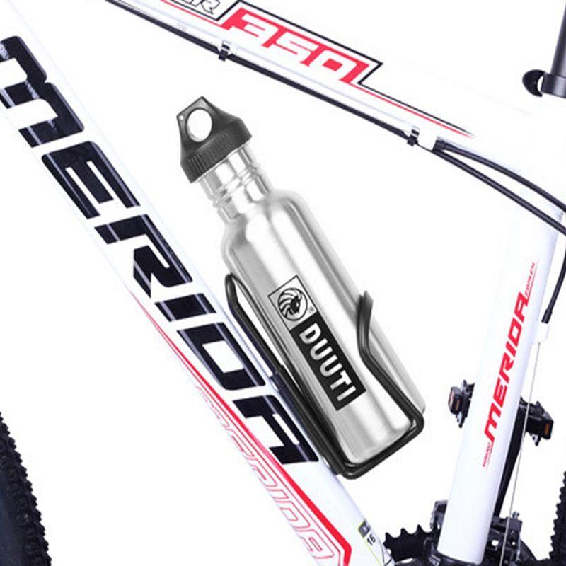 750 мл из нержавеющей стали велосипед бутылки воды MTB езда на велосипеде чайник воды пить