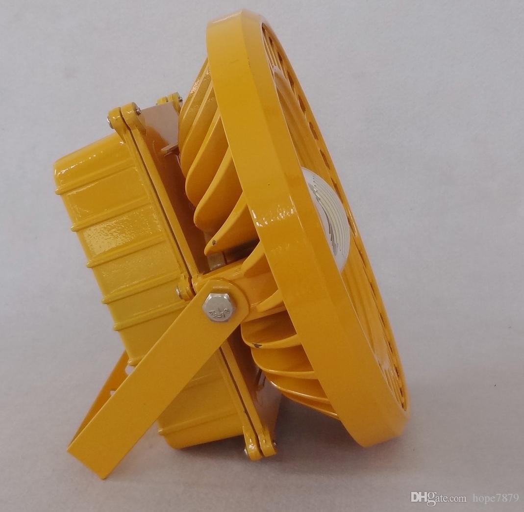 Взрыв-доказательство 100W Светильник светодиодный промышленный antiexplosion освещение Сени проекционный прожектор bridgelux45mil водитель MeanWell гарантированность 3years