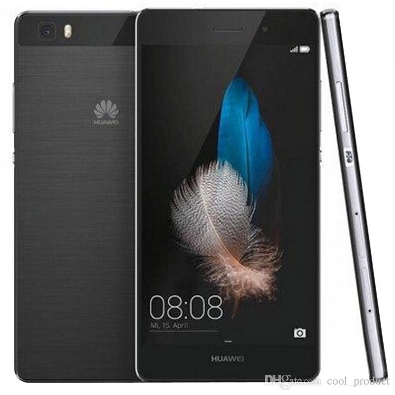 الأصل هواوي P8 لايت 4G LTE موبايل تليفون كيرين 620 الثماني الأساسية 2GB RAM 16GB ROM الروبوت الهاتف 5.0 5.0inch HD 13.0MP OTG الذكية خلية جديدة