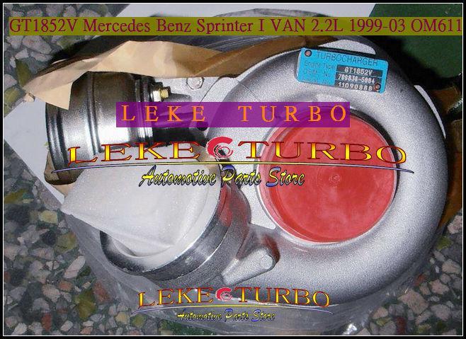 GT1852V 709836-0004 for Mercedes benz Sprinter 1999-03 2.2L OM611 turbocharger (7)
