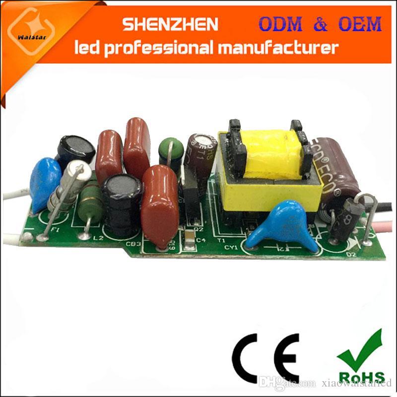 AC220V (9-12) x1W 9w 10w 12w CE EMC 승인 트라이 액 디 밍이 가능한 LED 드라이버 램프 전원 공급 장치 조명 변압기 전원 공급 장치를 절연