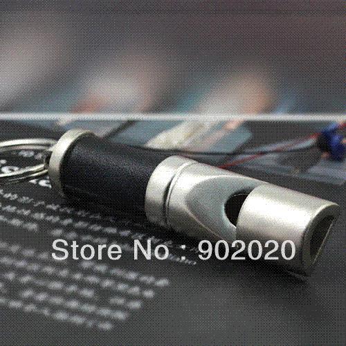 [ 10 pcs/ lot ] Simple Useful Whistle Keychain Keyring Free Shipping keyring lanyard keychain purse