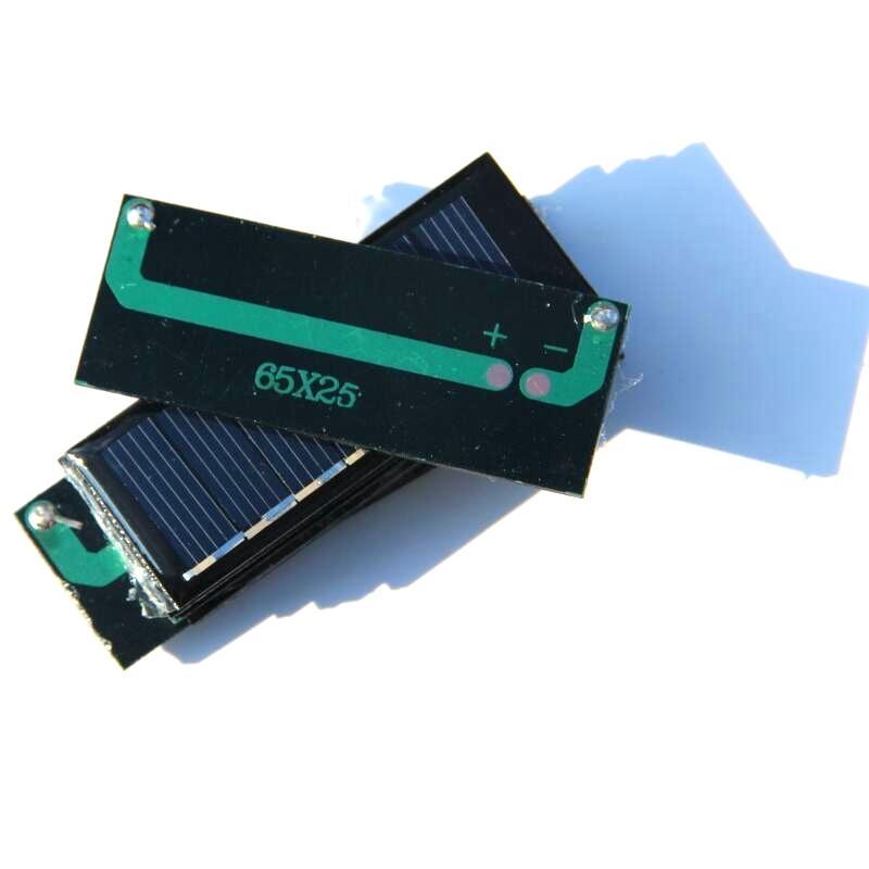 Novo 50 pçs / lote 0.2 w 3.5 v 50 ma mini solar célula policristalino painel solar para diy pequenas aplicações de energia / brinquedos educação kits frete grátis