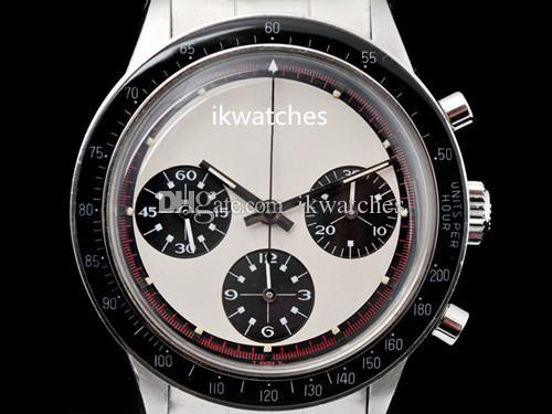 최고 판매 석영 스톱워치 남성 시계 크로노 그래프는 고품질의 스테인레스 스틸 팔찌 (112) 시계 시계