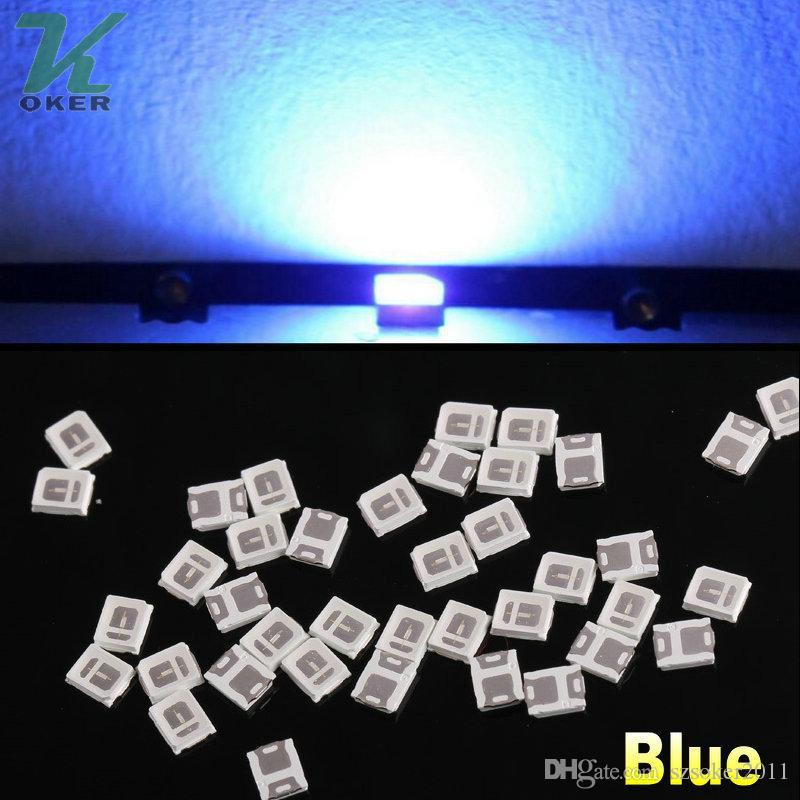 28000pcs / 릴 0.1W SMD 2835 블루 LED 램프 다이오드 울트라 밝은